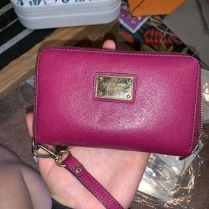 Michael Kors small wallet/wristlet